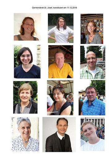 Die Mitglieder unseres Gemeinderats