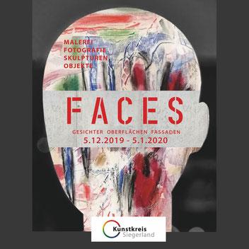 Ausstellung FACES Kunstkreis Siegerland 12-2019