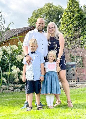 Familie Tomforde vom Hof Tomforde | Fredenbeck-Schwinge