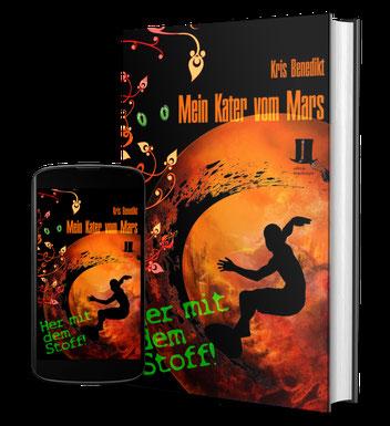 Cover: Mein Kater vom Mars - Her mit dem Stoff