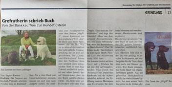 Grefratherin schrieb Buch über Hundepension