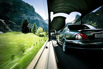 Autoverlad Kandersteg - Goppenstein