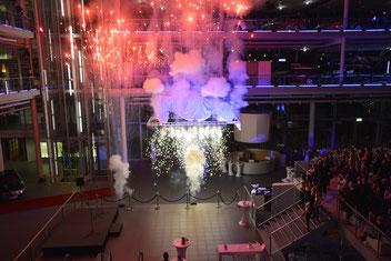 Indoor-Feuerwerk von Bavarian Fireworx Performance
