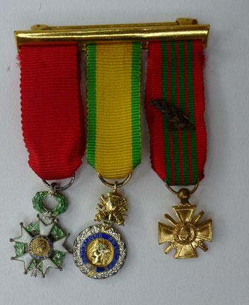 médaille miniature ww2