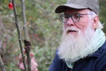 """Foto: Frauke Büddig - Gartenbotschafter - Es hilft den """"Obstbaumkrebs"""" rechtzeitig zu entdecken."""