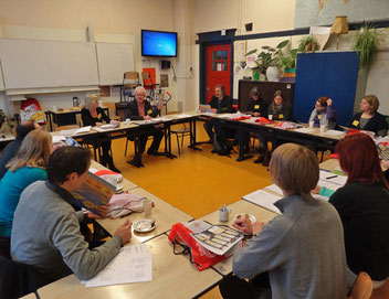 """Teil des Projektes """"Praxisforschung"""" war auch ein Informations- und Hospitationsbesuch am Zernike-College in Groningen. Foto: Ulrichs"""