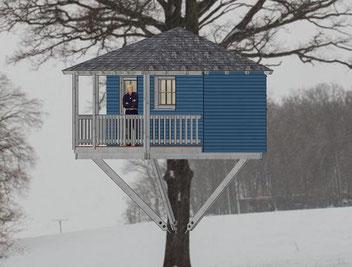 baumhaus selber bauen bauplan holz. Black Bedroom Furniture Sets. Home Design Ideas