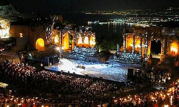 Мероприятия в Таормине и на Сицилии 2018
