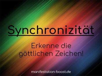 Synchronizität Eine Vision wird Realität (Carl Jung)