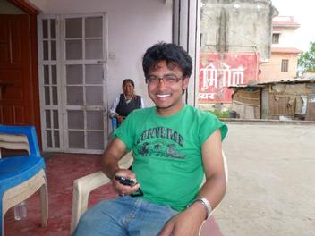 Ramesh in Nepalgunj auf seinem Weg nach Humla