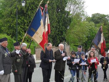 Cérémonies du 8 mai à Monchy-Lagache