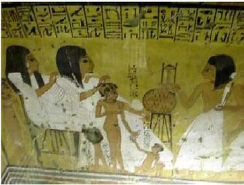 Tumba de Inherkau en Karnak