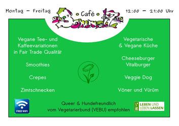 Café BommelZ Flyer 2015