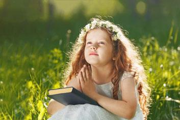 祈りとは「神に意が乗る」ということ。