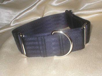 Martingale, Halsband, 4cm, Gurtband schwarz