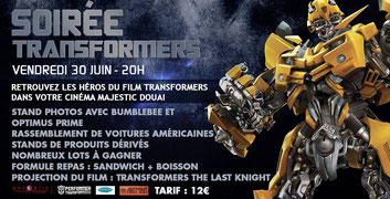 cinema douai transformers animation film avant premiere