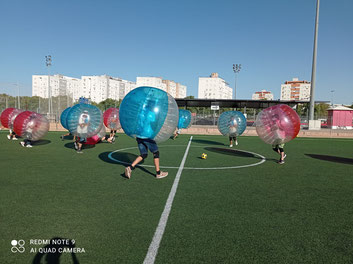 bubble ball sevilla