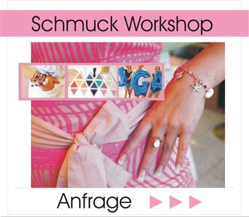 jga Frauen stilvoll feiern in düsseldorf  Termin Anfrage Workshop Armband & fußkettchen