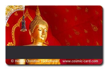 Cosmic-Card gold Rückseite