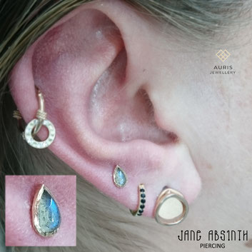 piercing düsseldorf piercingstudio tattoo tattoostudio doubleconch conch jane absinth piercerin