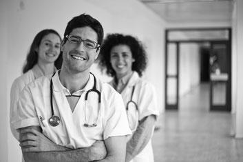 Südamerikanische Pflegekräfte