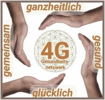 4G Gesundheitsnetzwerk, gemeinsam - ganzheitlich - gesund - glücklich