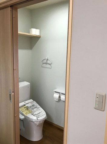 押入れをトイレにリノベーション