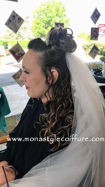 chignon mariée monastyle