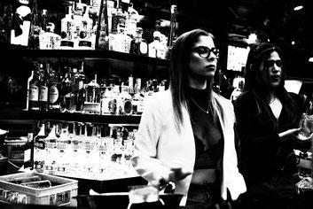 Barcelone, street photography, noir et blanc, black and white, CarCam, art