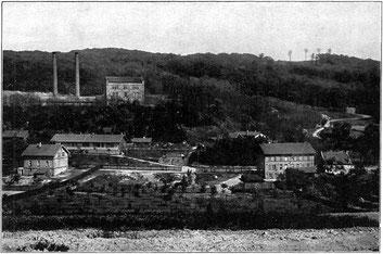dudweiler, bergbau, gegenortschacht, erster tiefbauschacht, 1843