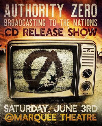 AUTHORITY ZERO - Record Release Show