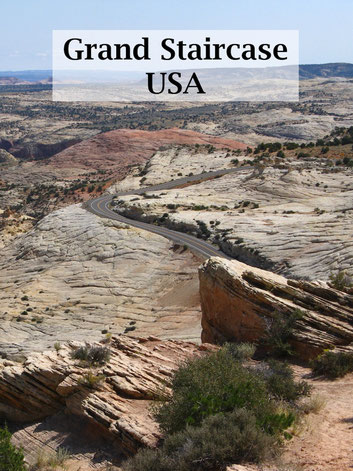 USA Rundreise: Grand Staircase Escalante National Monument, Petrified Forest State Park, Scenic Byway 12. #usareise