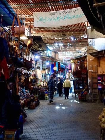 Sehenswürdigkeiten in Marrakesch: Souks