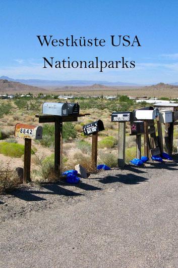 Westküste USA: Reisetipps für die Nationalparks im Westen, Reiseroute.
