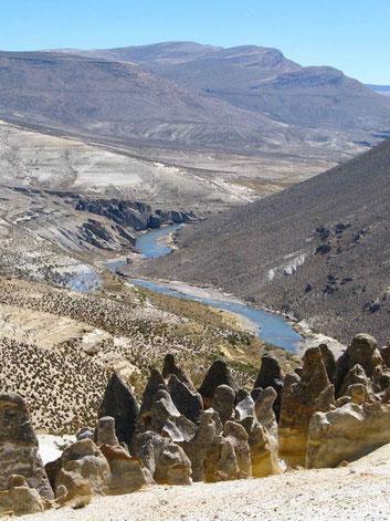 Peru, Fahrt zum Colca Canyon. Reiseberichte.