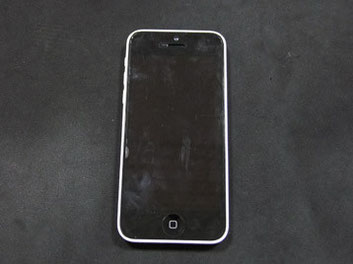 画面の映らないiPhone5c
