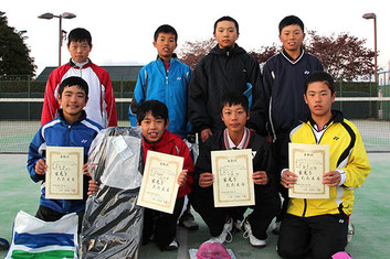 第2回OSAジュニアソフトテニスクラブ杯
