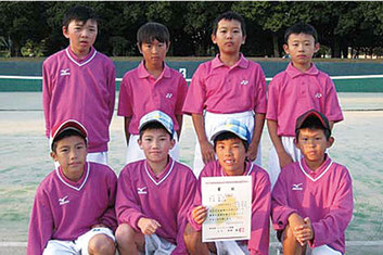 おおたSAJ 県小学生ソフトテニス団体戦