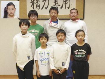 県大会3位までに入賞したおおたスポーツアカデミー選手
