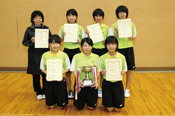 太田市インドアソフトテニス大会
