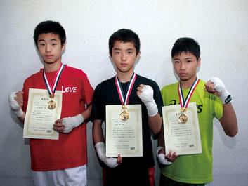 (左から)小林、星野、千吉良