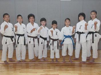 全日本少年少女大会及び関東少年少女大会に出場する選手