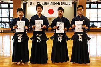 第35回太田市近隣少年剣道大会