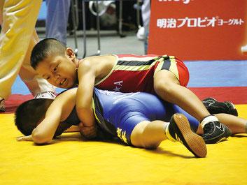 昨年に続き、優勝を飾った松井
