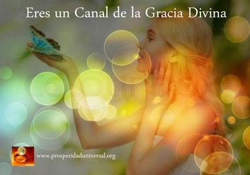 EL PODER INTERIOR II - PROSPERIDAD UNIVERSAL - ERES UN CANAL DE LA GRACIA DIVINA - www.prosperidaduniversal.org