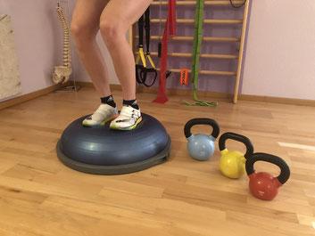 Funktionelles Training  und Balancetraining mit Kleingeräten