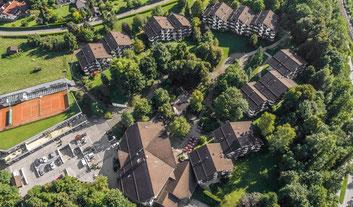 Dorint Hotel Garmisch-Partenkirchen, Berghotel, Berg, Hotel, Luftaufnahmen