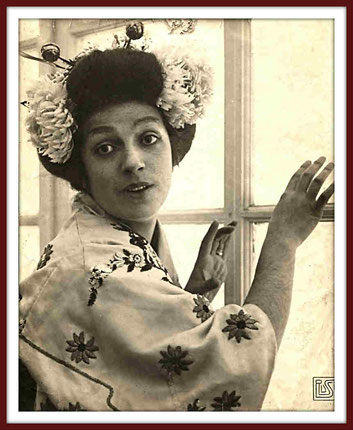 Ersilde Cervi-Caroli - soprano - Madama Butterfly