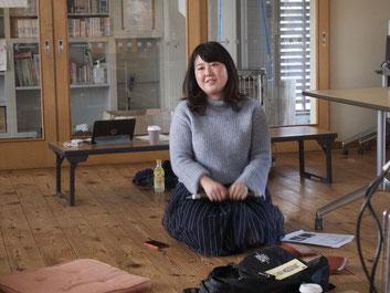 堀米萌美さん。第3期5回目セミナーにて。
