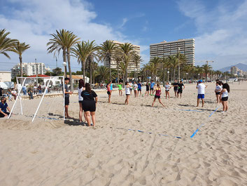 Jugadores y jugadoras de todas las categorías participaron en la actividad